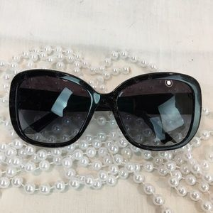 Versace Small Square Sunglasses logo details sides